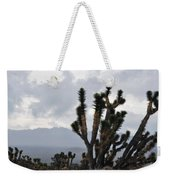 Joshua Tree Forest Ivanpah Valley Weekender Tote Bag