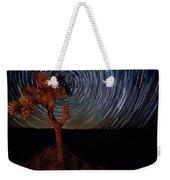 Joshua Tree Star Trails Weekender Tote Bag