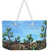 Joshua Trees Weekender Tote Bag by Anastasiya Malakhova