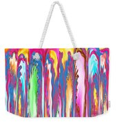 Abstract Journalist Beheaded People Leaning Against The Wall Weekender Tote Bag