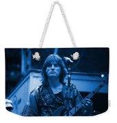 Journey #2 Enhanced In Blue Weekender Tote Bag