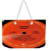 Journey - Infinity Side 1 Weekender Tote Bag