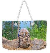 Journey Of Burrowing Owl Weekender Tote Bag
