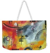 Joy And Happiness By Madart Weekender Tote Bag