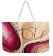 Joy And Strength Dance Together Weekender Tote Bag