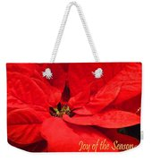 Joy Of The Season Weekender Tote Bag