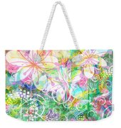 Joyful Flowers By Jan Marvin Weekender Tote Bag