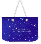 Joyful Hanukkah Card  Weekender Tote Bag