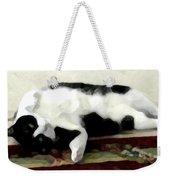 Joyful Kitty Weekender Tote Bag
