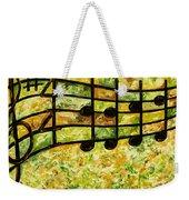 Joyful - Lemon Lime Weekender Tote Bag