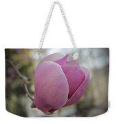 Joyful Pink Magnolia Weekender Tote Bag