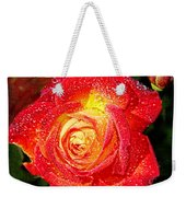Joyful Rose Weekender Tote Bag