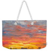 Joyful Sunset Weekender Tote Bag