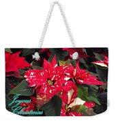 Joyous Christmas Weekender Tote Bag