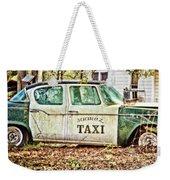 Juarez Taxi Weekender Tote Bag