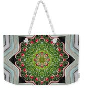 Jubilant Mandevilla Kaleidoscope Pattern Weekender Tote Bag
