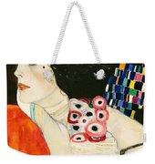 Judith II Weekender Tote Bag by Gustav Klimt