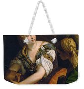 Judith With The Head Of Holofernes Weekender Tote Bag