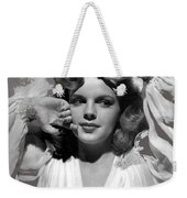 Judy Garland Mgm Publicity Photo Presenting Lily Mars Clarence Sinclair Bull Photo 1943-2014 Weekender Tote Bag