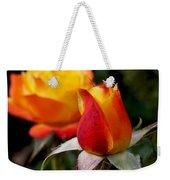 Judy Garland Rose Weekender Tote Bag by Rona Black