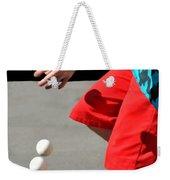 Juggler Weekender Tote Bag by Diana Angstadt