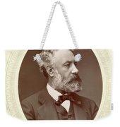 Jules Verne (1828-1905) Weekender Tote Bag