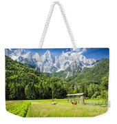 Julian Alps Farm Weekender Tote Bag