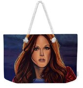 Julianne Moore Weekender Tote Bag