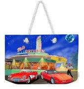 Julies Corvettes Weekender Tote Bag by Jack Pumphrey
