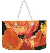Julie's Tulips Weekender Tote Bag