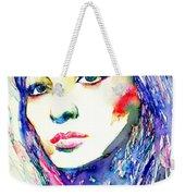 Juliette Greco - Colored Pens Portrait Weekender Tote Bag