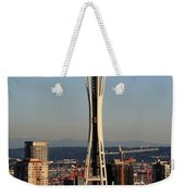 July 4th Needle Weekender Tote Bag by Benjamin Yeager