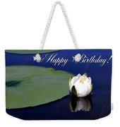 July Birthday Weekender Tote Bag