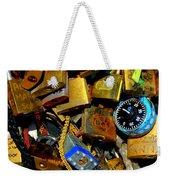 Jumble Of Locks Weekender Tote Bag