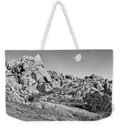 Jumbo Rocks Bw Weekender Tote Bag