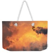 'jump Into The Fire' Weekender Tote Bag