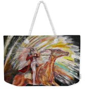 Jump The Rainbow Weekender Tote Bag