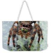 Jumper Spider 4 Weekender Tote Bag