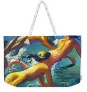 Jumping Mermaids Weekender Tote Bag