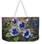 June In The Garden Weekender Tote Bag