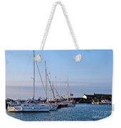 June Morning - Lyme Regis Harbour Weekender Tote Bag