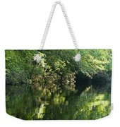 June Morning On The Pawcatuck Weekender Tote Bag