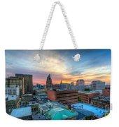 Juneau Town Sunset Weekender Tote Bag