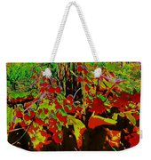 Jungle Abstract Weekender Tote Bag