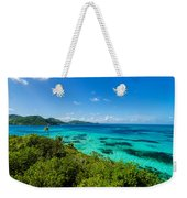 Jungle And Turquoise Water Weekender Tote Bag