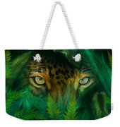 Jungle Eyes - Jaguar Weekender Tote Bag