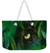 Jungle Eyes - Panther Weekender Tote Bag