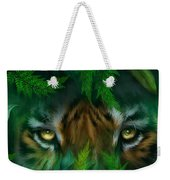 Jungle Eyes - Tiger Weekender Tote Bag
