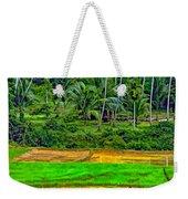 Jungle Homestead Paint Version Weekender Tote Bag
