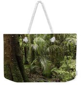 Jungle Leaves Weekender Tote Bag